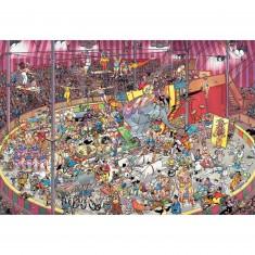 Puzzle 5000 pièces : Le cirque, Jan Van Haasteren
