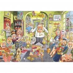 Puzzle 1000 pièces - Wasgij : Le vétérinaire