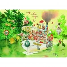 Puzzle 1000 pièces - Wasgij : L'embouchure de la rivière
