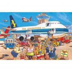 Puzzle 500 pièces - Wasgij : Bonnes vacances