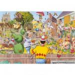Puzzle 500 pièces - Wasgij : Floraison merveilleuse