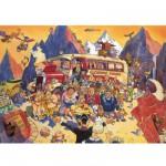 Puzzle 500 pièces - Wasgij : Réservation en dernière minute