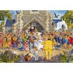 Puzzle 500 pièces - Wasgij : Un jour inoubliable