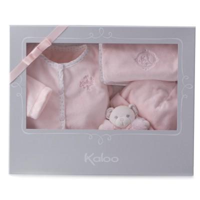 Kaloo Perle : Coffret naissance 4 pièces rose - Kaloo-962196