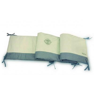 Kaloo Perle : Tour de lit réversible blanc et grise - Kaloo-960204
