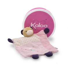 Kaloo Petite Rose : Doudou marionnette ours joli