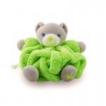 Kaloo Plume : Mini doudou neon : Ours vert fluo