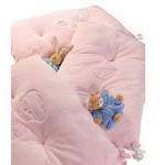 Kaloo Plume Tour de lit : Rose