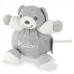 Kaloo Zen : Mini Patapouf : Ours gris à rayures