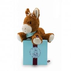 Peluche pour tout-petit : Les amis : Petit cheval Mocha