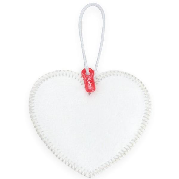 Pendentif coeur pour doudou : Monkoeur : Coeur à broder - Kaloo-963472