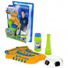 Kit de démarrage Foot Bubbles Lionel Messi : Chaussettes orange
