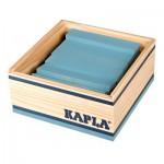 Kapla 40 planchettes - Bleu clair