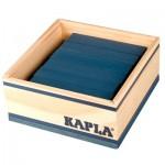 Kapla 40 planchettes - Bleu foncé