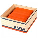 Kapla 40 planchettes - Orange