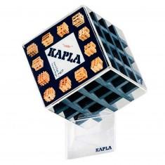 Kapla Cube 30 planchettes : Bleu foncé