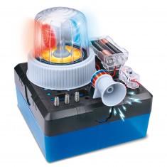 Mini expérience Electricité : Fabrication d'une alarme sonore et lumineuse
