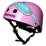 Casque de Vélo : Pink Goggle (Taille M)