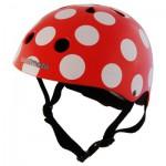 Casque de Vélo : Red Dotty (Taille M)