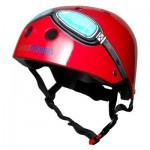 Casque de Vélo : Red Goggle (Taille M)