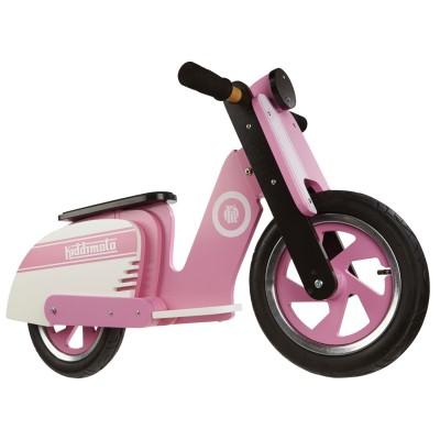 draisienne scooter pink stripe jeux et jouets kiddimoto avenue des jeux. Black Bedroom Furniture Sets. Home Design Ideas