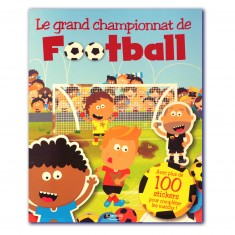 Livre de stickers Le grand championnat de football