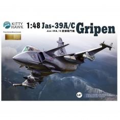 Maquette avion : JAS 39 Gripen