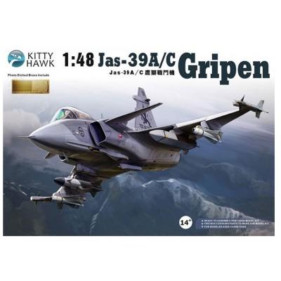 Maquette avion : JAS 39 Gripen - KittyHawk-KHM80117