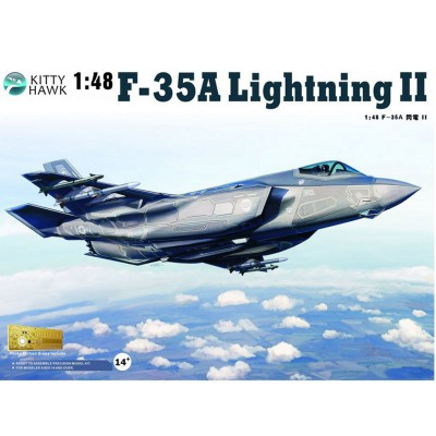 Maquette avion : Lockheed-Martin F-35 A Lightning II - KittyHawk-KHM80103