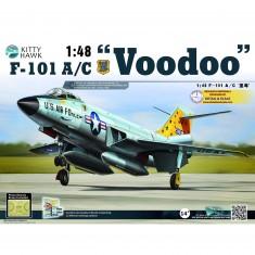 Maquette avion : McDonnell F-101