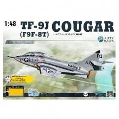 Maquette Avion : TF-9J Cougar US Navy