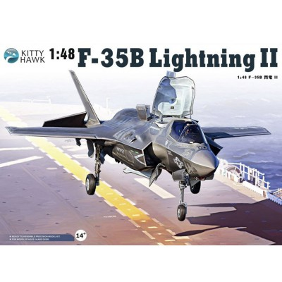 Maquette avion : Lockheed-Martin F-35 B Lightning II - KittyHawk-KHM80102
