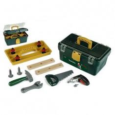 Caisse à outils Bosch avec visseuse/dévisseuse Ixolino à piles et autres outils
