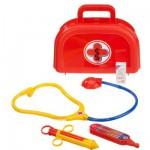 Mallette de docteur : Petit modèle valisette rouge