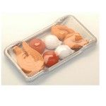 Plaque de four avec aliments