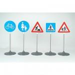 Sécurité Routière  :  Set de 5 panneaux routiers