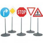 Sécurité Routière : Set de panneaux routiers