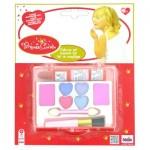 Set de maquillage - Princess Coralie : Palette avec 3 rouges à lèvres