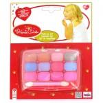 Set de maquillage - Princess Coralie : Palette Fards à paupières et brillants à lèvres