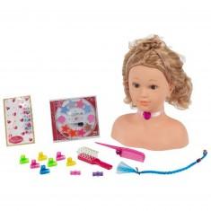 Tête à coiffer et à maquiller 33 cm Princess Coralie