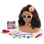 Tête à coiffer et à maquiller Princesse Coralie : Hawaï