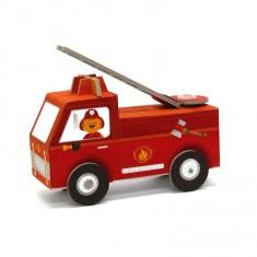Jouet à plier : Fold my car! : Camion de pompiers