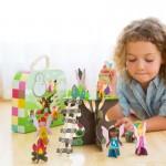 Mallette de construction : Les ensembles 3D : L'arbre à fées