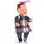 Mini Poupée Anita : Robe écossaise