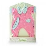Vêtements pour poupée Anita 22 cm : Pyjama rose
