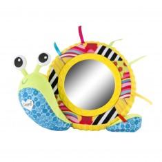 Peluche musicale et veilleuse : Michel l'escargot musical