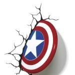 Bouclier Lumineux Super Héros Avengers : Captain America