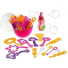 Bubble Up : Oeuf à bulles rose