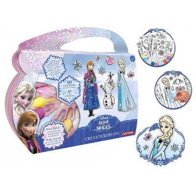 cr ation de stickers la reine des neiges frozen jeux et jouets lansay avenue des jeux. Black Bedroom Furniture Sets. Home Design Ideas