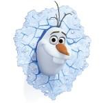 Décoration Murale Lumineuse Disney Frozen : Olaf